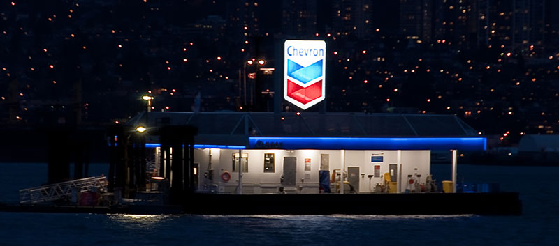 Chevron Legacy A State Of The Art Marine Fuel Station For
