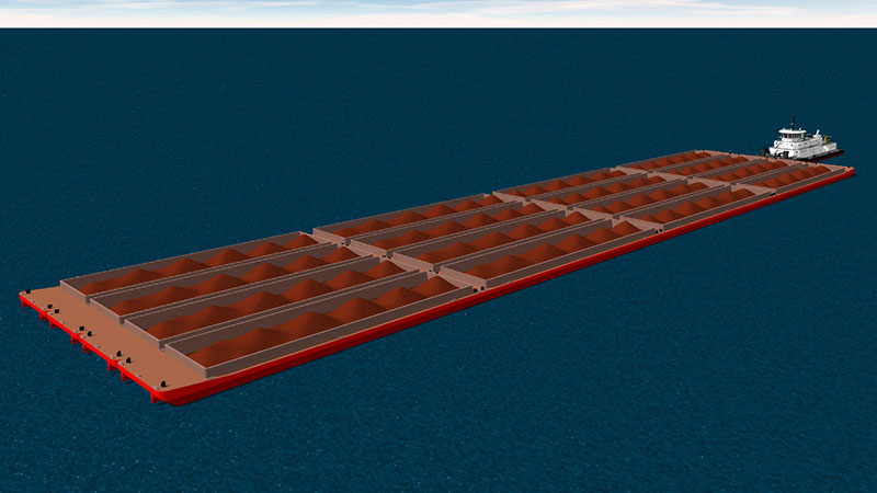 Hidrovias Project Taking Shape  Unique Canadian Designs For Push Boats And Barges For The Rio