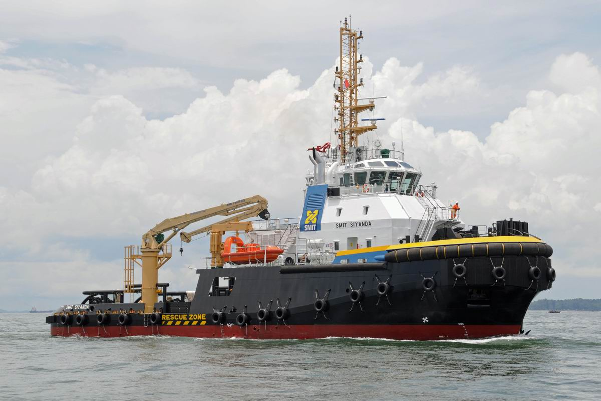 RAmpage 5000 Class offshore support vessel Smit Siyanda delivered