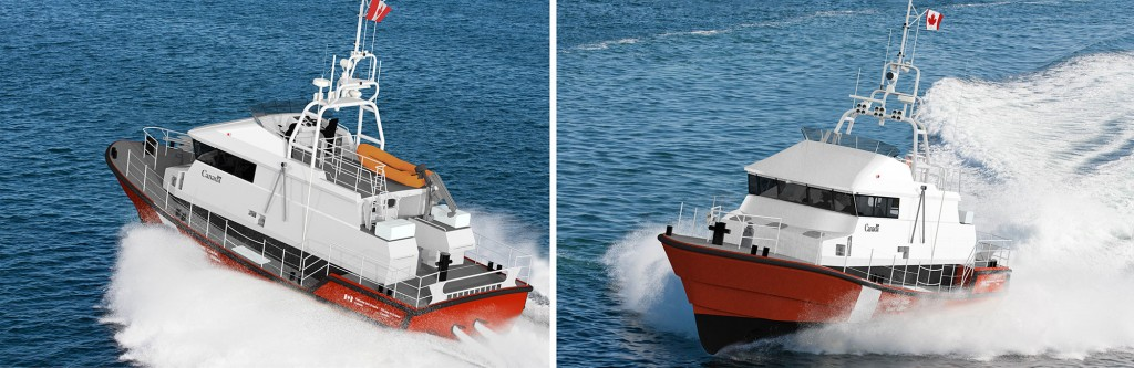 High Endurance Self-righting Search & Rescue Lifeboats for CCG