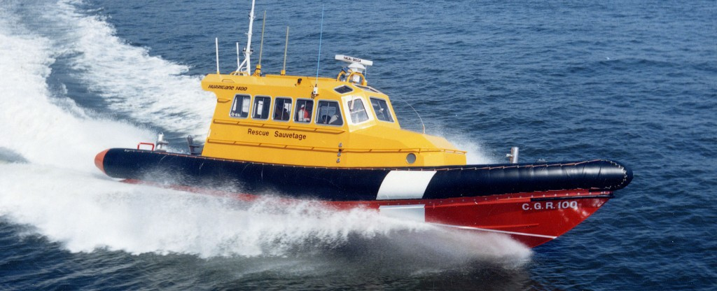 Prototype SAR Rigid Inflatable Rescue Boat for CCG
