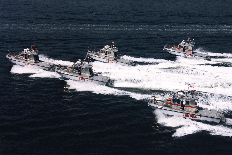 RAnger J-1200 Fireboats 1-5