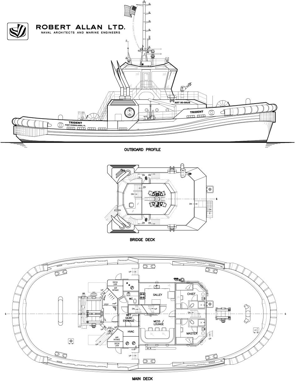 ART Trident - The First US Built Rotortug® - Robert Allan Ltd