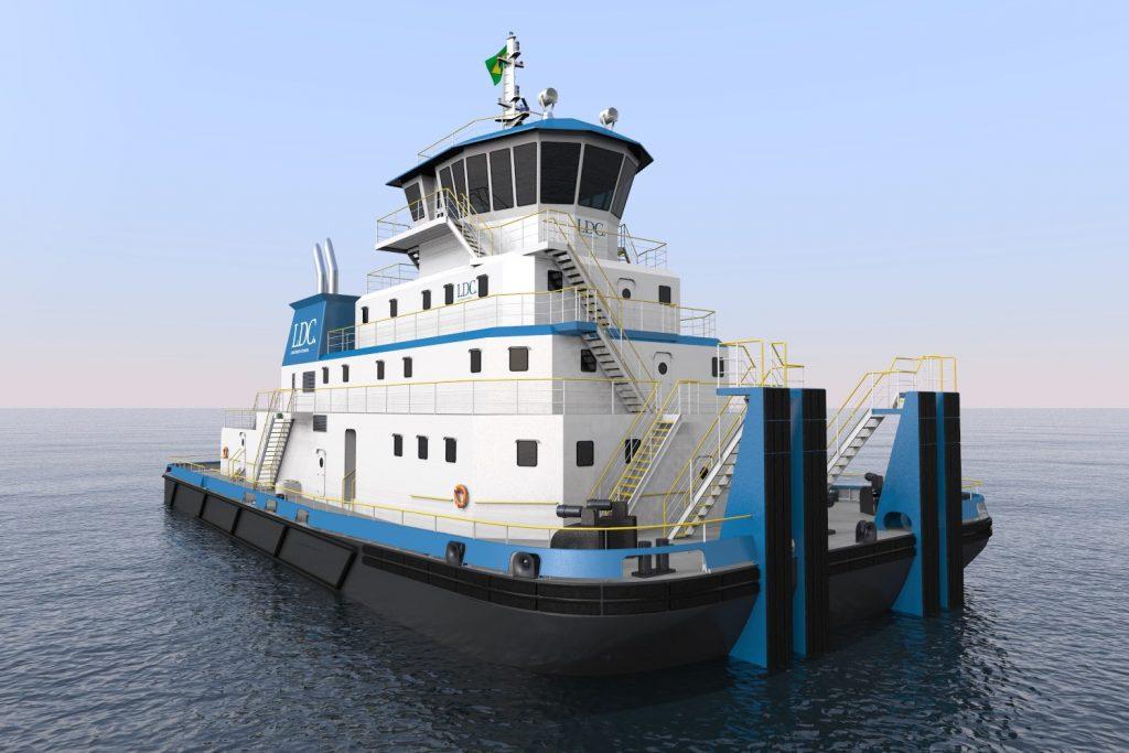 pushboat render