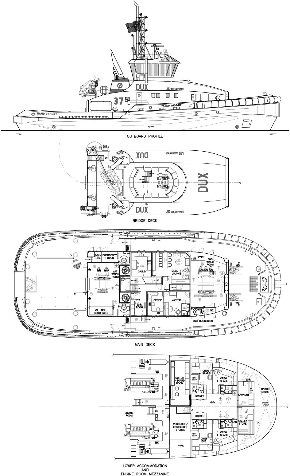 First Of Robert Allan Ltds Rastar 4000 Df Class Dual Fuel Extreme Ajax Boiler Wiring Diagram For More Information On The Escort Tugs Or Any Other High Performance Vessel Designs Developed By Ltd Please Contact